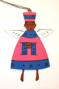 Painted Fat Angel