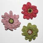 Crochet Flower Broach